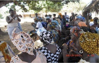 TTT training in Moyamba, Sierra Leone